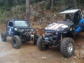 "GREEK TEAMS ATTACK ALL CATEGORIES IN ""KARDZHALI 4x4"""
